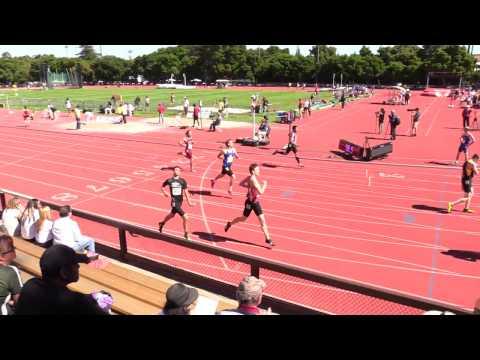 Stanford Invitational 2017, Boy's 400 Hurdles, Heat 2