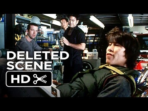 The Fast and the Furious: Tokyo Drift Deleted Scene - At The Shop (2006) - Racing Movie HD