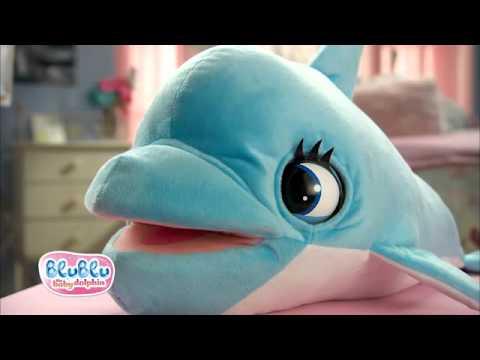 Peluche Delfino Blu Blu - Mixyou-giocattoli