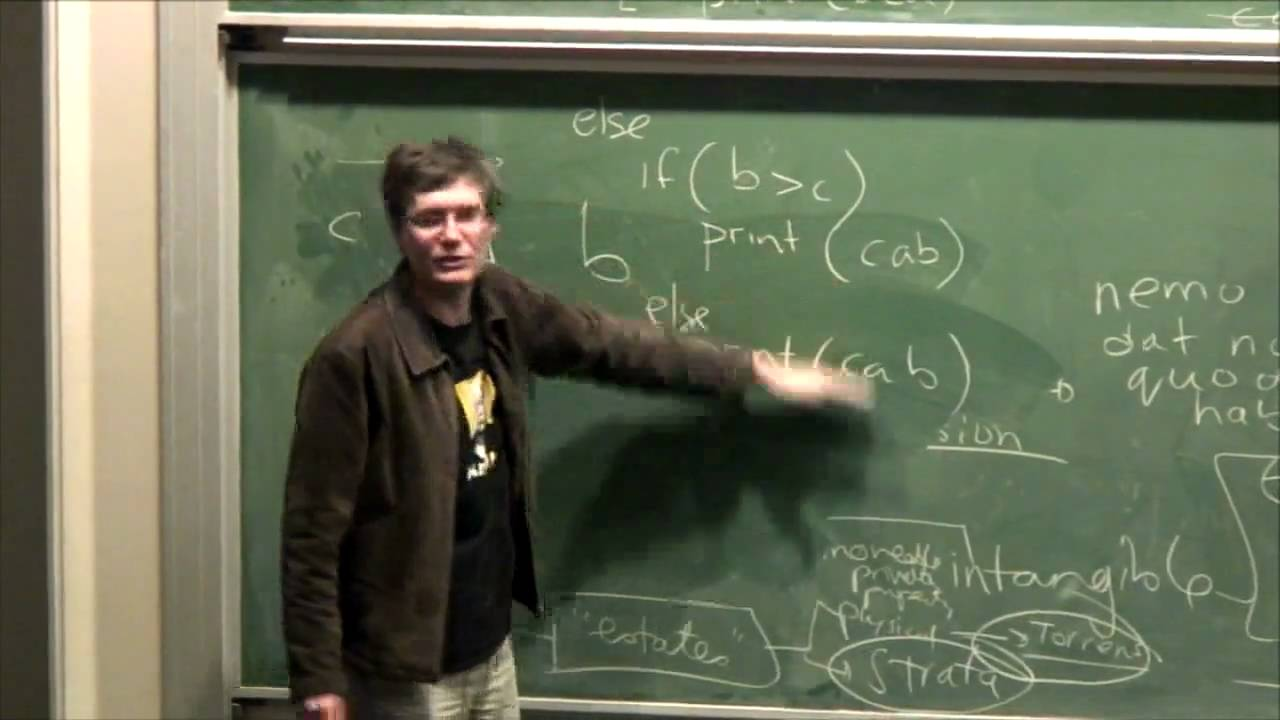 Lecture 9: Data Structures and Algorithms - Richard Buckland