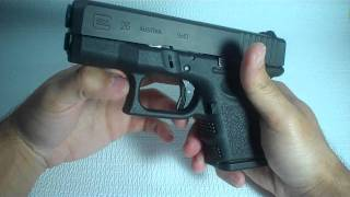 Glock 26 Gen 3 Pros and Cons