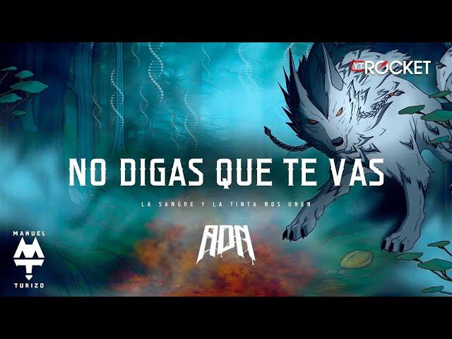 No Digas Que Te Vas - MTZ Manuel Turizo x Zion & Lennox | Video Letra