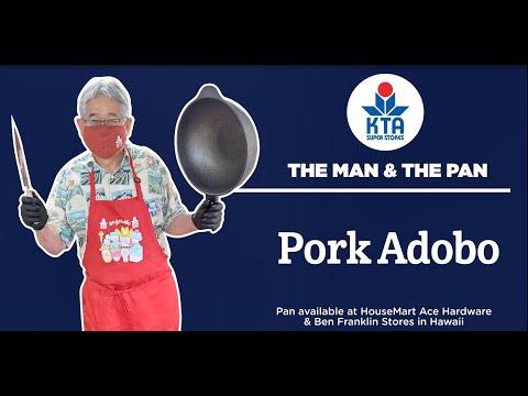 KTA's The Man and The Pan - Pork Adobo