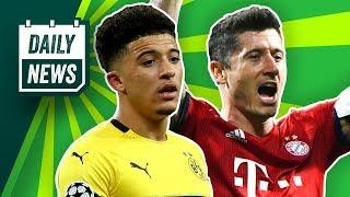 DFB-Pokal: FCB vs. RB im Finale! City schlägt United! Bentaleb suspendiert! James vor Abschied!