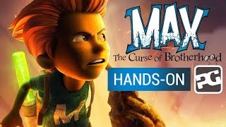 MAX: THE CURSE OF BROTHERHOOD (iPhone / iPad / | Hands-On