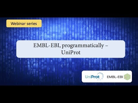 EMBL-EBI, programmatically: UniProt