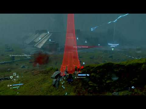 DEATH STRANDING - Post Game BT Swarm - Incinerator - Eastern Map |