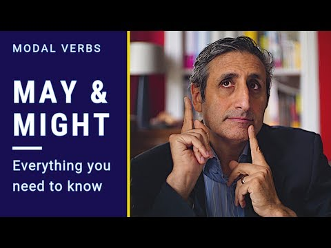 Modal verbs MAY and MIGHT: EVERYTHING you need to know
