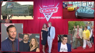 Disney Pixar Cars 3 World Premiere Footage from the Anaheim Convention Center