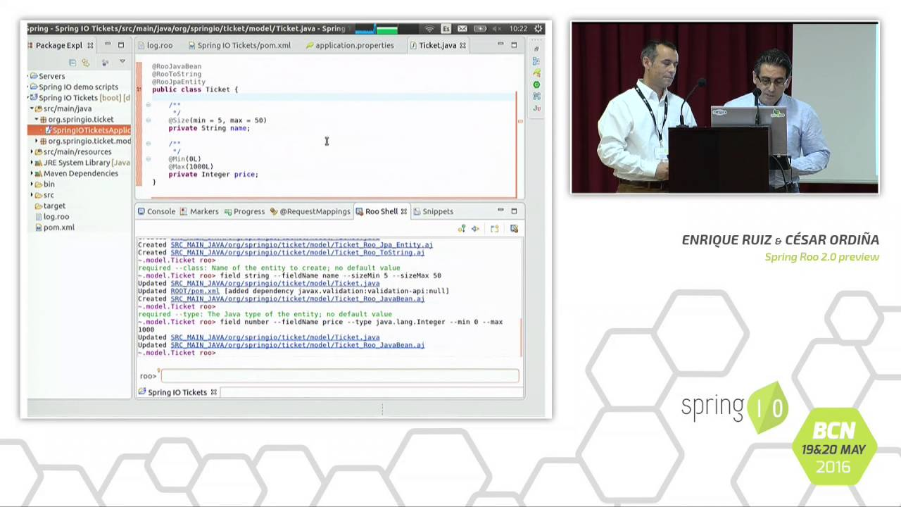 Spring Roo 2.0 Preview - Enrique Ruiz
