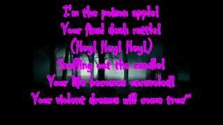 Poison Apple by Blood on the Dancefloor ft. Jeffree Star (LYRICS ON SCREE) [FULL SONG]