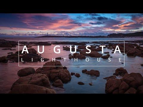 Bracketing Exposures to capture Seascape sunset images | Augusta Lighthouse Landscape Photograp