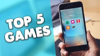 Top 5 Best FREE Games For iPhone, iPod & iPad 2015!