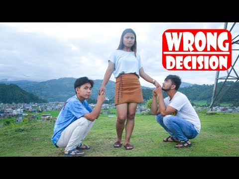 Wrong Decision| Modern Love|Nepali Comedy Short Film|SNS Entertainment