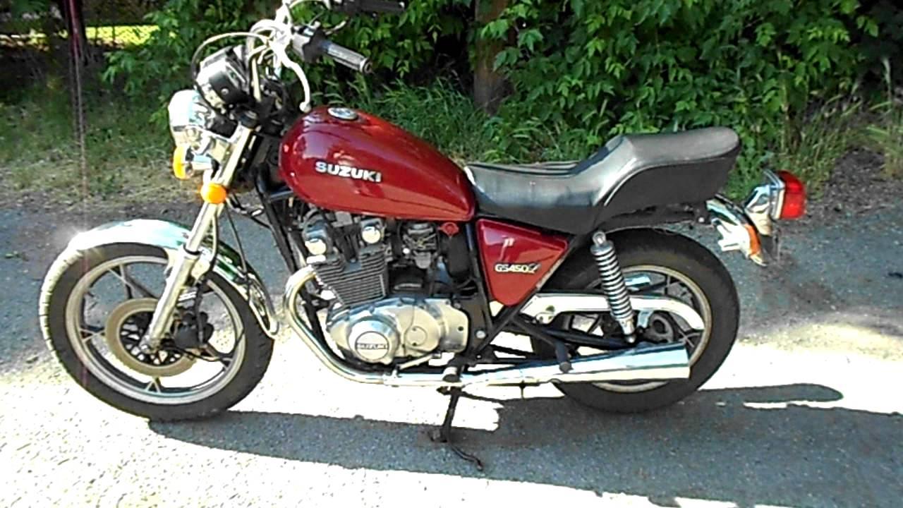 1981 Suzuki GS450L - YouTube