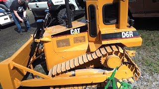 The worlds most amazing Caterpillar D6 bull dozer