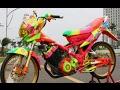Video Modifikasi Motor Suzuki Satria FU Airbrush Keren Terbaru Part 2