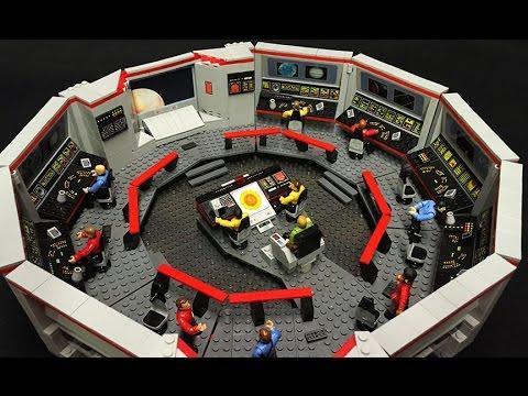 Complete Enterprise Bridge A Star Trek Mega Bloks Custom Build By