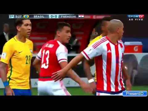 (Full Highlight) Brazil vs Paraguay 3-0 29-03-2017
