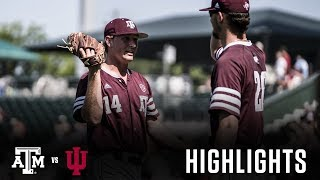 Baseball: Highlights | A&M 10, Indiana 3