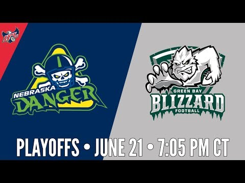 IFL Playoffs | Nebraska Danger at Green Bay Blizzard
