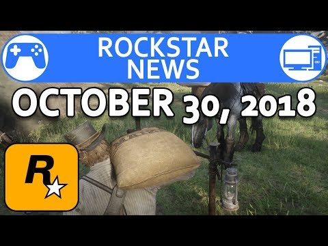 Red Dead Redemption 2 & GTA Online Halloween 2018 - Rockstar News - October 30 2018