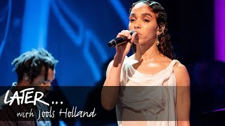 FKA twigs - Cellophane (Later... With Jools Holland) accompanied by Sampha