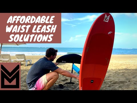 Affordable DIY Foiling Waist Leash with Charles Osterlund - Liquid Blue Cabarete, Dominican Republic
