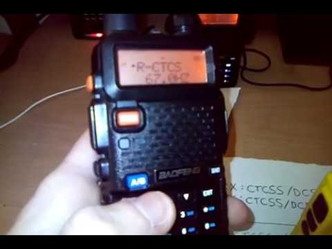 [RADIOSEC] Scan Ctcss Duplex Repeater Baofeng UV5R offset -10 MHz UHF