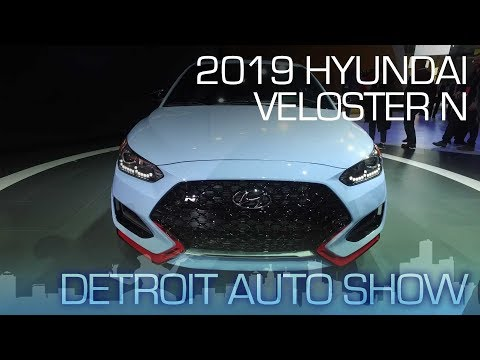 2019 Hyundai Veloster N Born in Namyang, Honed on the Nurburgring NAIAS 2018