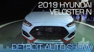 2019 Hyundai Veloster N Born in Namyang, Honed on the Nurburgring NAIAS 2018
