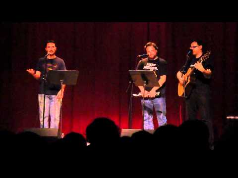"Wil Wheaton performing ""William F*cking Shatner"" with Paul and Storm"