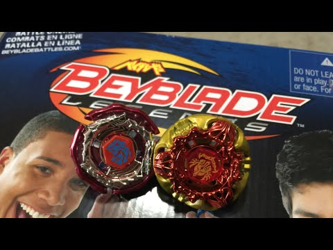 Beyblade Legends SUPER VORTEX BATTLE SET Unboxing & Review!