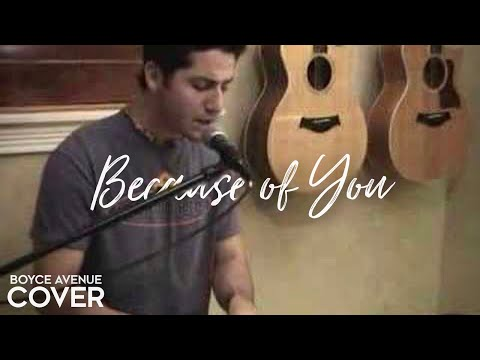 Music video Boyce Avenue - Because of You