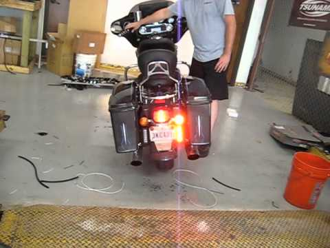Dad S Street Glide With New Led Brake Light Blinkers By