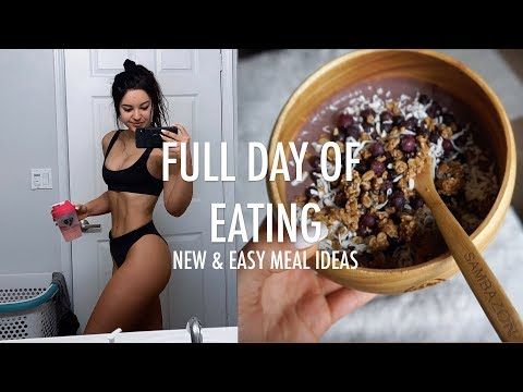 What I Eat in a Day to Stay Healthy & Fit | New Meal Ideas/Recipes