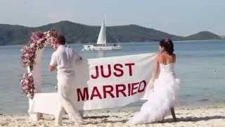 Свадьба на островах - Тайланд, 2555 год(Свадьба на островах в Тайланде Друзья,уже 7лет,мы занимаемся организацией свадебных церемоний в великолеп..., 2012-02-27T06:45:08.000Z)