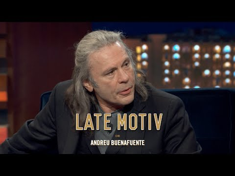 "LATE MOTIV - Bruce Dickinson. ""No somos civilizados""  