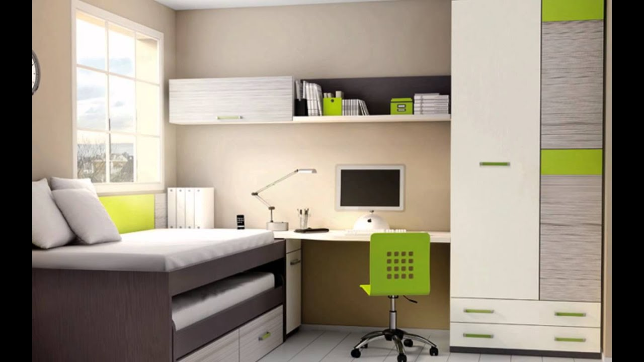Habitaciones juveniles muebles modernos camas nido compactos literas youtube - Muebles modernos para habitaciones ...