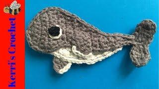 Crochet Humpback Whale Tutorial