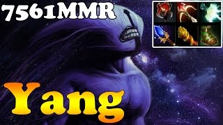 Dota 2 - Yang 7561MMR TOP 1 MMR CHINA Plays Faceless Void - Ranked Match Gameplay