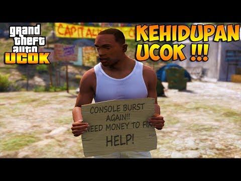KEHIDUPAN UCOK SAAT KABUR DARI PENJARA !!! || GTA 5 MOD UCOK INDONESIA!!!