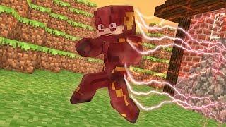 Minecraft: COMO VIRAR O FLASH NO MINECRAFT !! - Super-Heros Mod