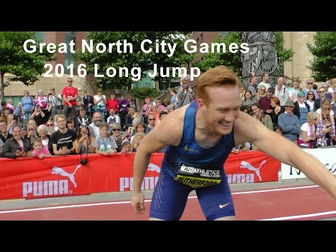 Great North City Games 2016 Long Jump