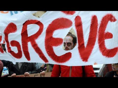 إضراب في القطاع العام الفرنسي احتجاجا على مشاريع الحكومة  - 13:24-2017 / 10 / 10