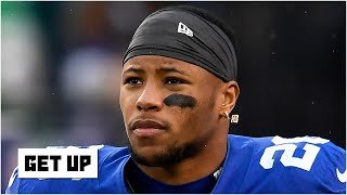 Saquon Barkley ranks No. 1 on ESPN's Top 10 NFL RBs list | Get Up
