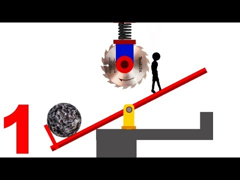 Stupid Stickman Dumb Ways To Die (Stupid Boy) All Levels Walkthrough & Fails Android Gameplay