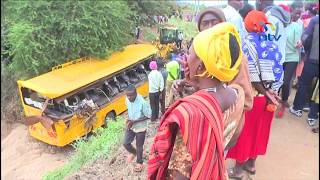 St. Gabriel  Primary School parents mourn 10 pupils killed in Mwingi crash