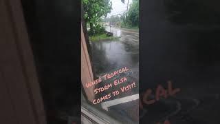 Tropical Storm Elsa Visits Massachusetts! #Shorts
