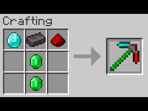 Minecraft, But You Can Craft Custom Items…